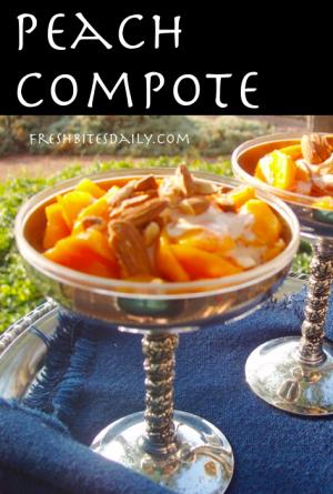 Peach Compote at FreshBitesDaily.com