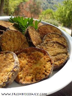 Breaded Eggplant at FreshBitesDaily.com