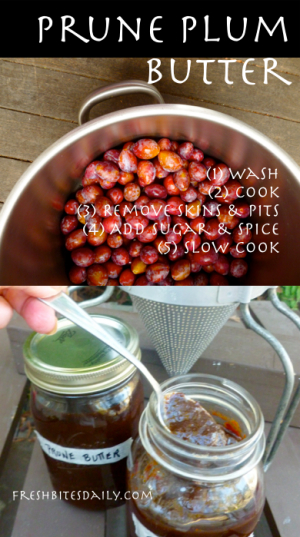 What to do with extra-small pit fruit? Here's your plan (with a plum recipe)!