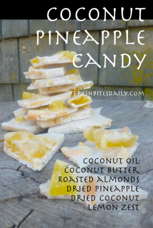 Coconut Pineapple Candy at FreshBitesDaily.com