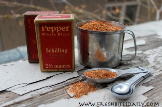 Once you have this cajun seasoning on hand, you may try it in everything....