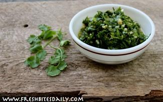 Enjoy the full flavor of cilantro with this cilantro pesto (preserve it this way too)