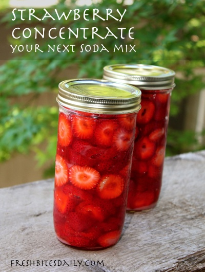 Tuck away this strawberry lemonade concentrate idea. You're going to love it!