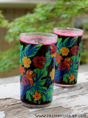 Hibiscus Syrup for Convenient Summer Treats and Wintertime Tea
