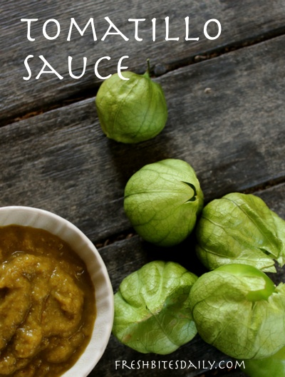 Tomatillo sauce: Use and preserve your summer bounty with this tasty sauce