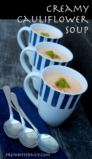 Cauliflower Soup, A Creamy Ode to Soup Spontaneity