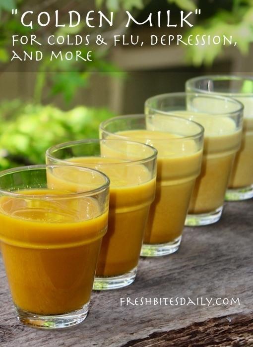 Turmeric milk (
