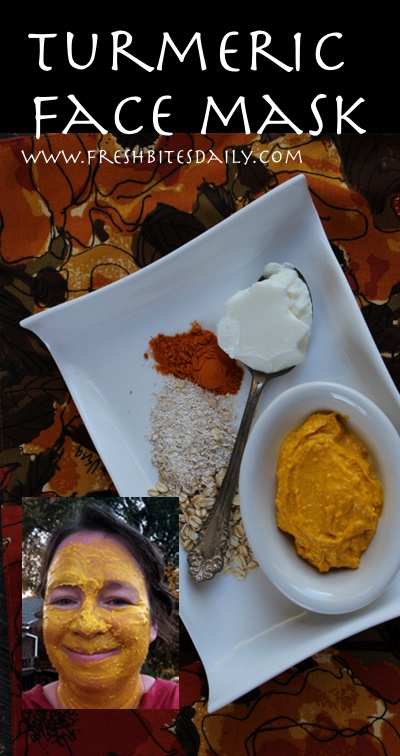 An edible facial mask to tone your skin and reduce inflammation