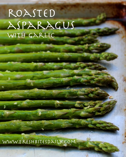 Simple roasted asparagus for your springtime bounty