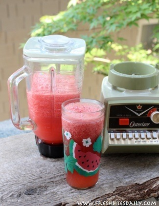 Agua de sandia: Refreshment in a glass
