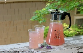 Lavender and lemon combine for a refreshing drink (two methods)