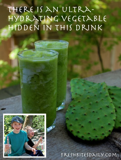 You won't believe the hydrating vegetable in this drink (and, no, it's not cucumber because that would be boring...)