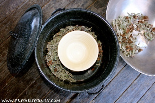 """Make fragrant herbal (""""flower water"""") that cost $5/ounce, with this stove top hack"""