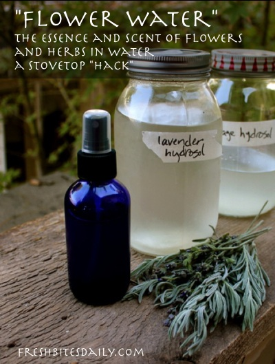 """Make fragrant herbal """"flower waters"""" that cost $5/ounce, with this stove top hack"""