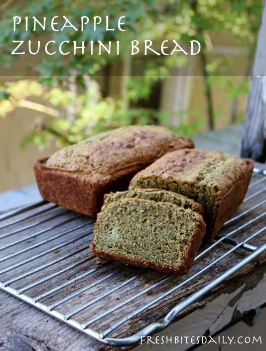 A pineapple zucchini bread to remember