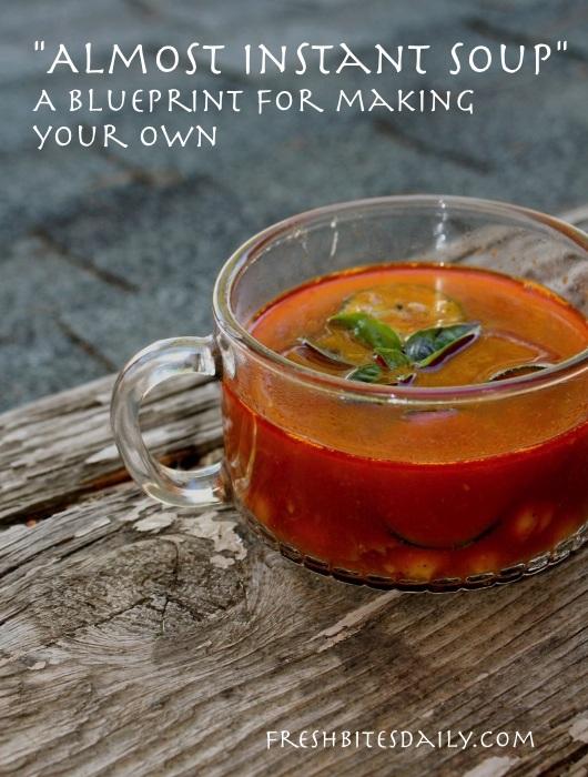 """""""Almost Instant Soup"""" secrets"""