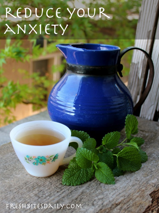 A slick lemon balm tea for anxiety and more