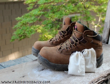 A simple solution for stinky shoes