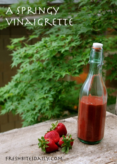 A versatile strawberry vinaigrette for salads and sauces400