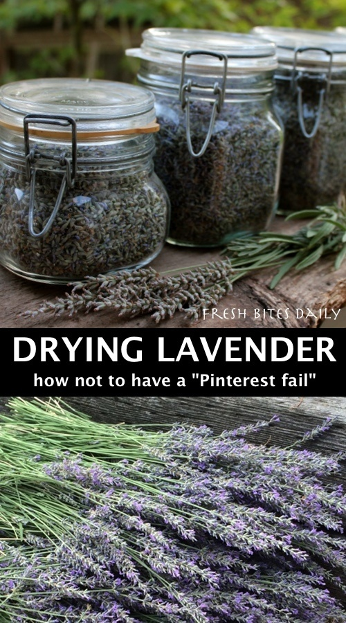 """How to dry lavender without becoming a """"Pinterest #fail"""""""