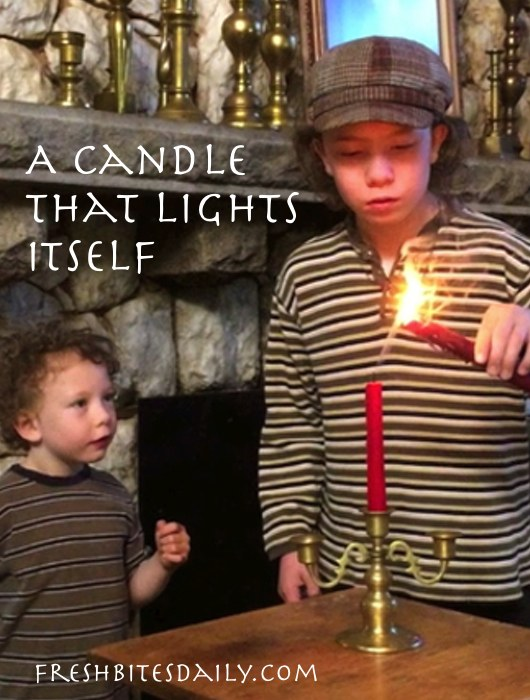 Seriously, a candle can light itself. Check it out.