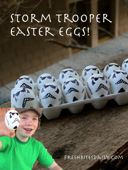 Your Star-Wars-inspired Storm Trooper Easter Basket