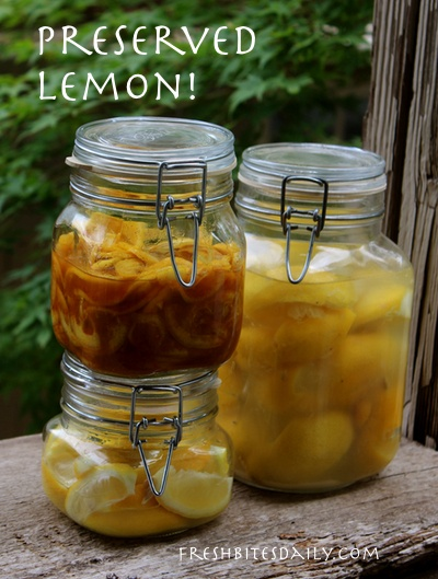 Here are three methods to preserve your lemons with salt!