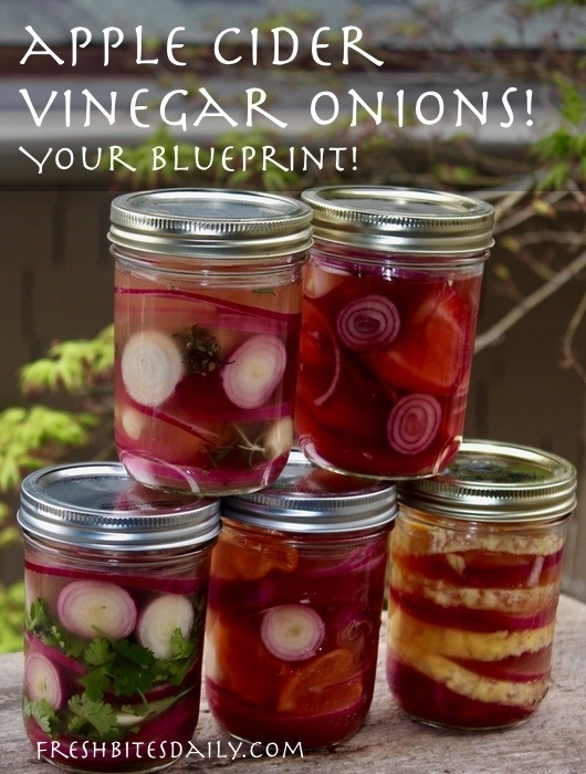 Apple Cider Vinegar Recipe: Pickled Onion Blueprint